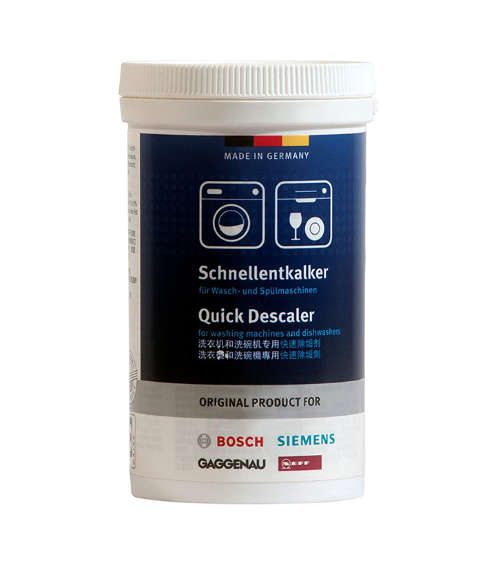 bosch siemens quick descaler for washing machines