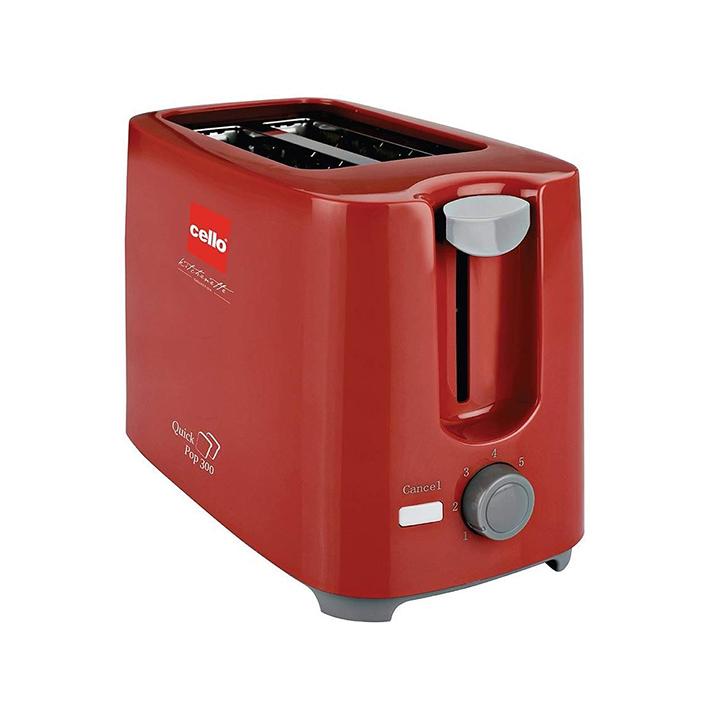 cello quick 2 slice pop up 300 toaster