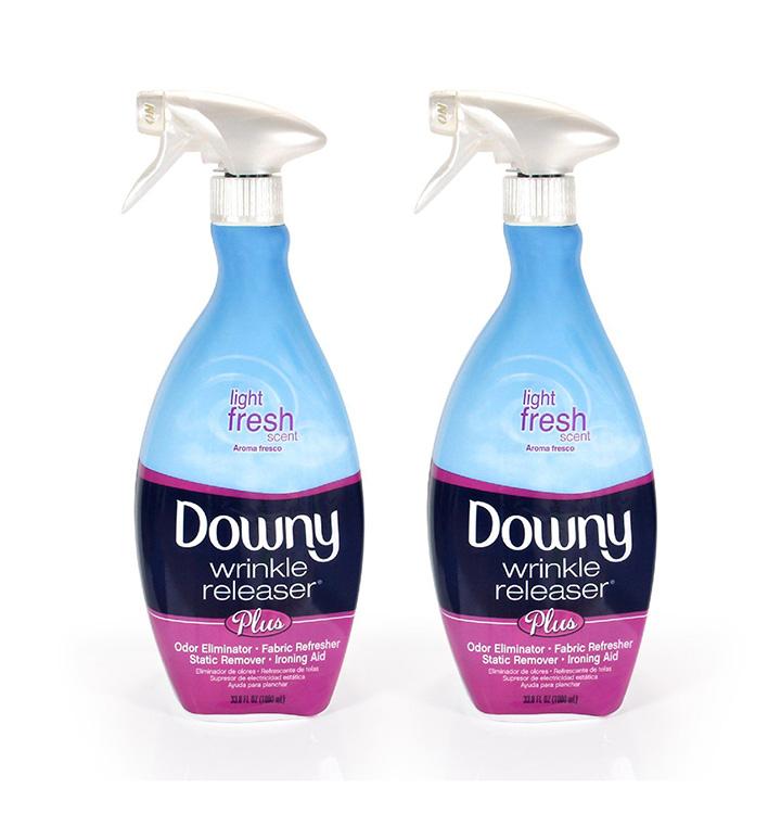 downy wrinkle releaser plus light fresh scent