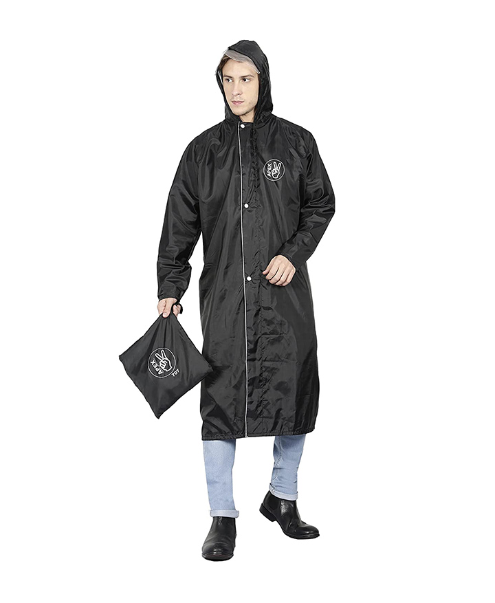 fabseasons reversible waterproof raincoat