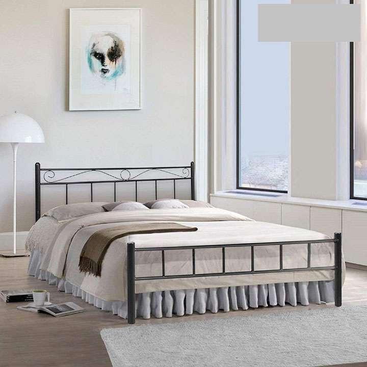 furniturekraft london metal king size double bed