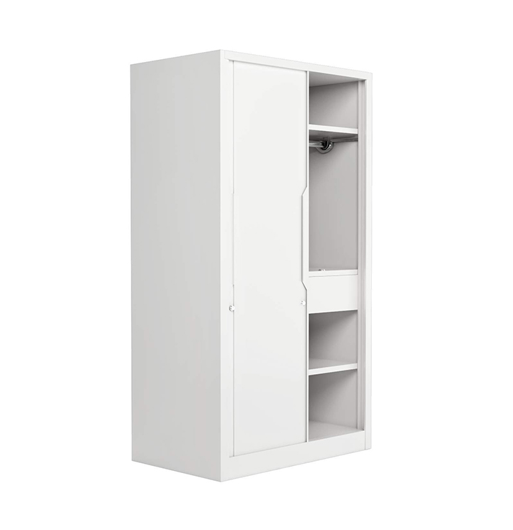 godrej interio slide n store pro plus 2-door wardrobe