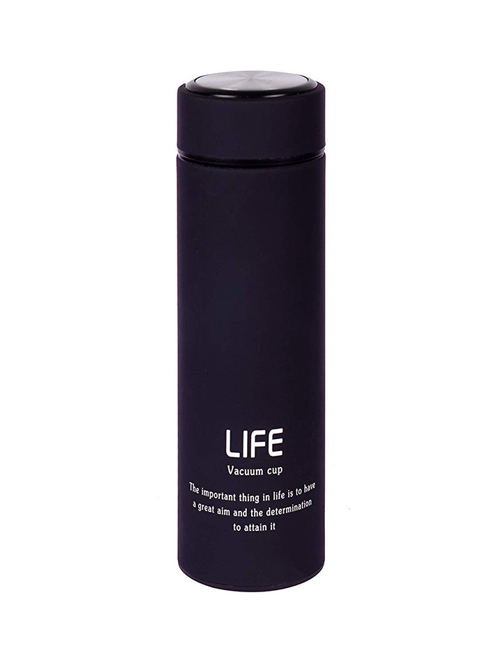 gs polo® double wall vacuum insulated stainless steel life flask