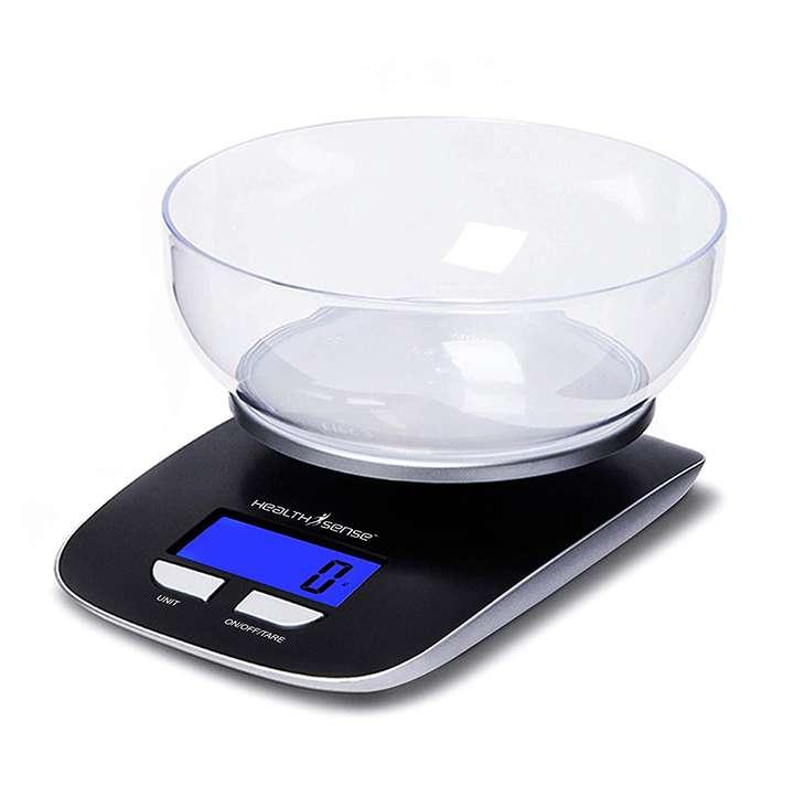 healthsense chef-mate ks 33 digital kitchen weighing scale