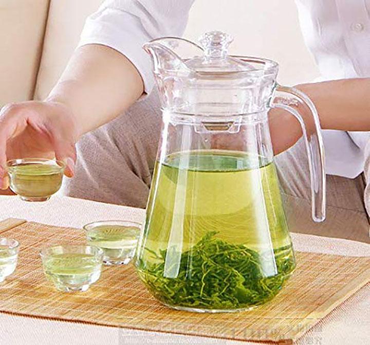 home-cart green apple duck pot jug
