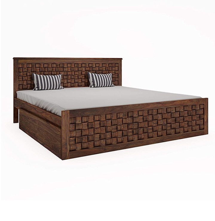 home edge sheesham bed