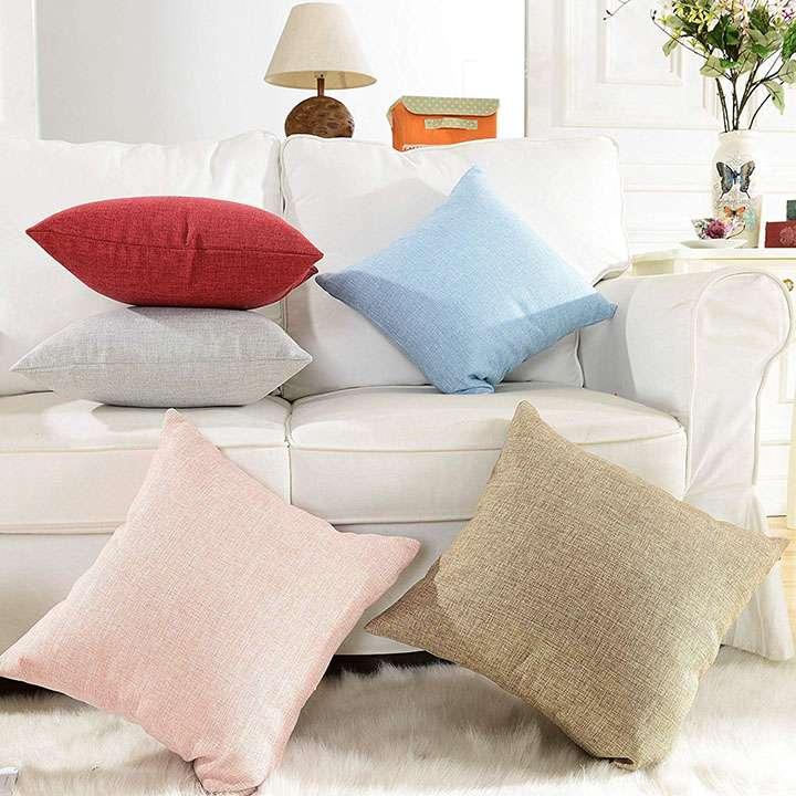 khooti jute cushion cover