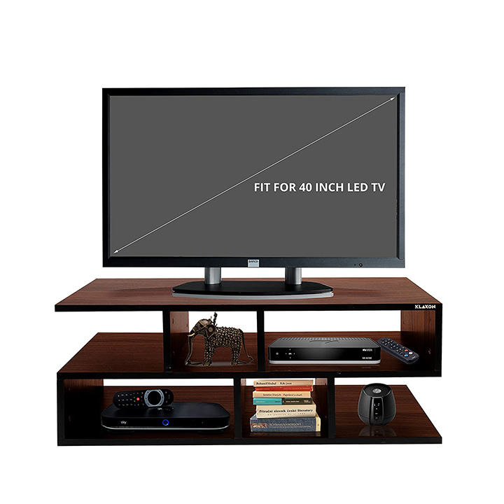 klaxon wooden tv unit