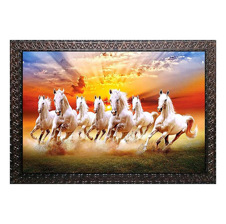 kyara arts running horse wall painting