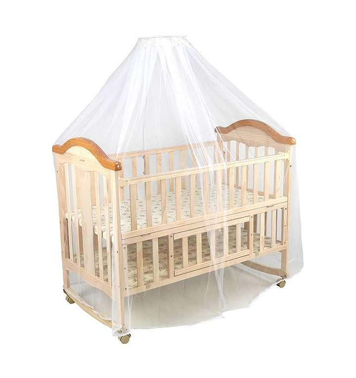 luvlap c-70 baby wooden cot