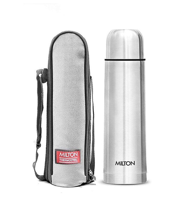 milton thermosteel flip lid flask 1000 milliliters silver