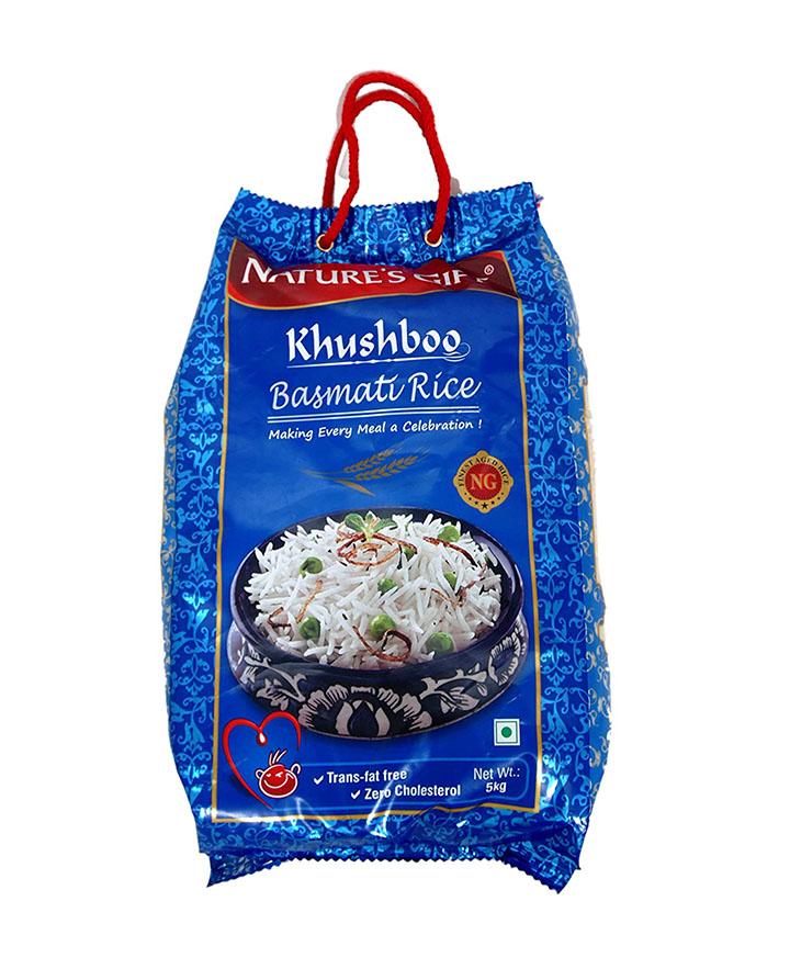 nature's gift khushboo basmati rice