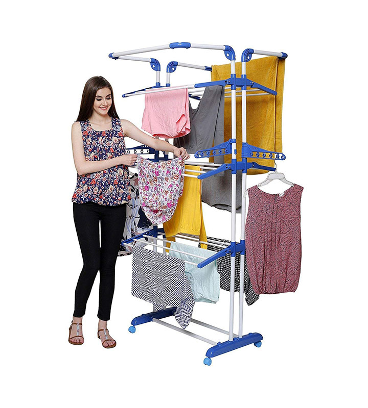 parasnath prime cloth drying stand