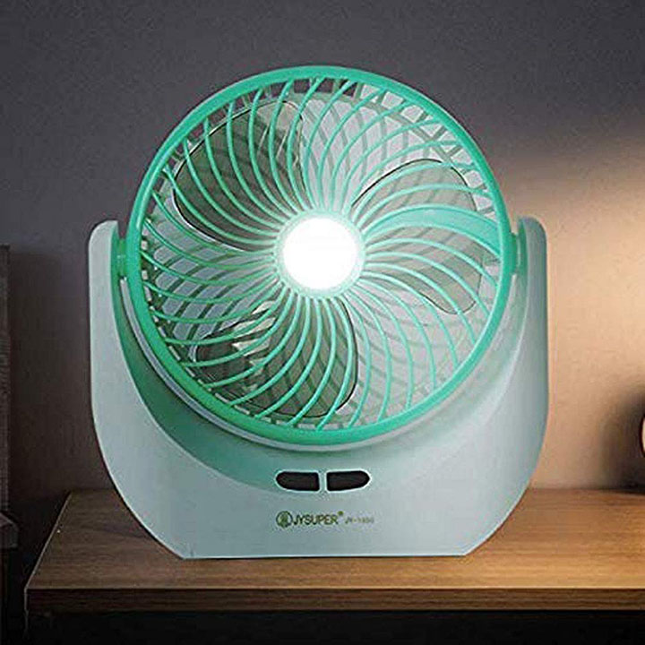 piesome powerful rechargeable table fan