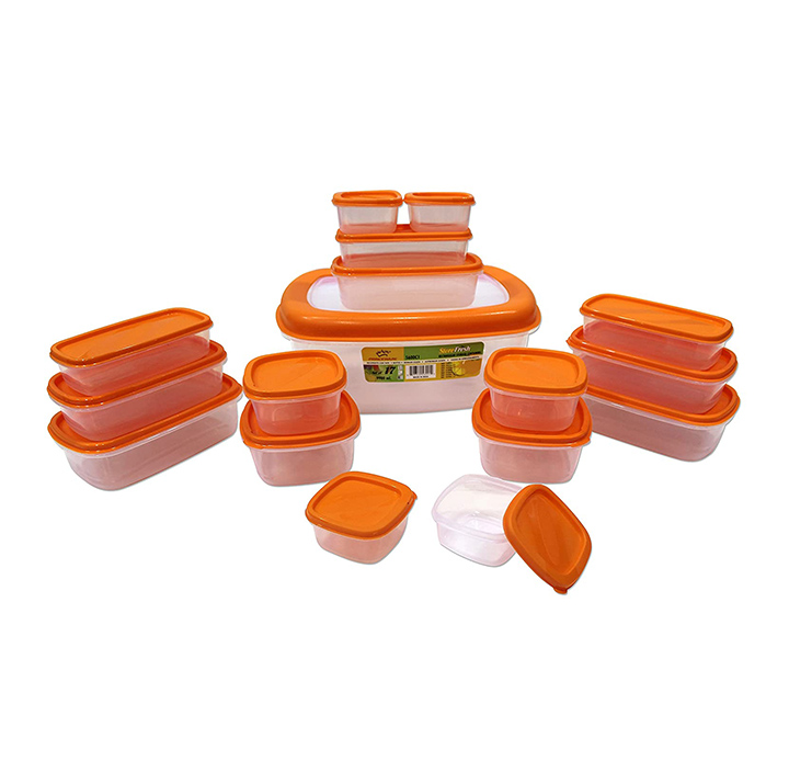 prince ware sf packing plastic container set