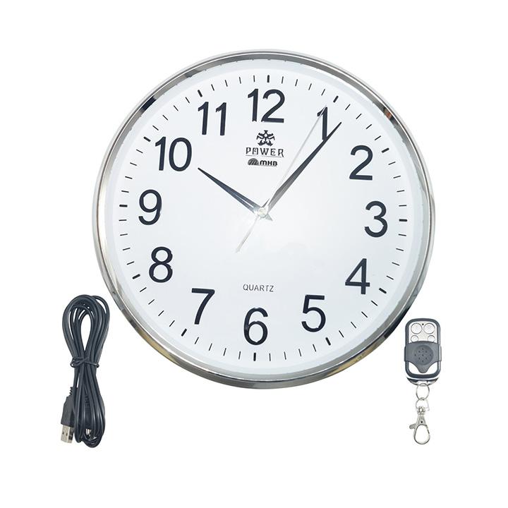 quality wall clock hidden spy camera