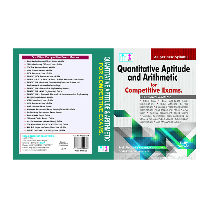 quantitative aptitude and arithmetic
