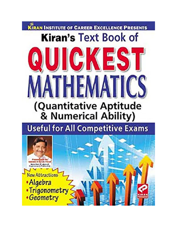 quickest mathematics by kiran publication