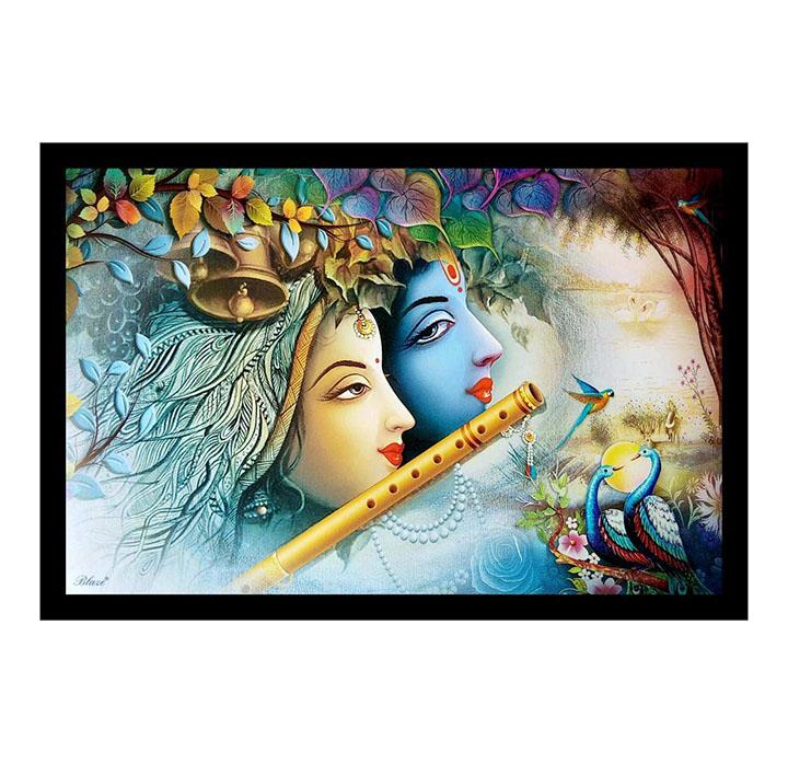 radha krishna painting for living room