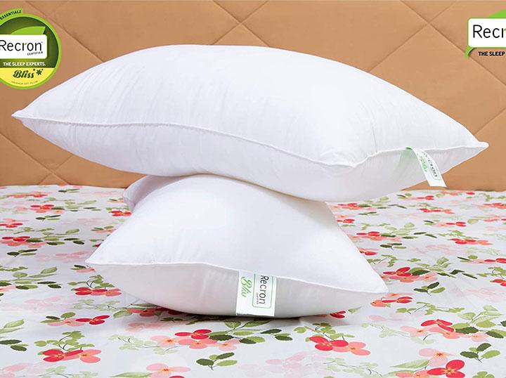 recron certified bliss fibre pillow