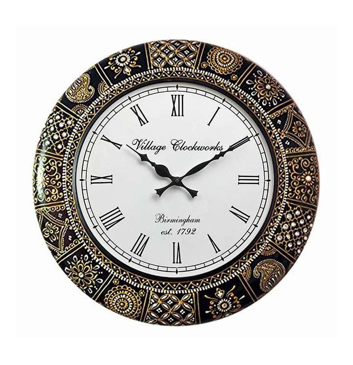 royalscart analog wall clock