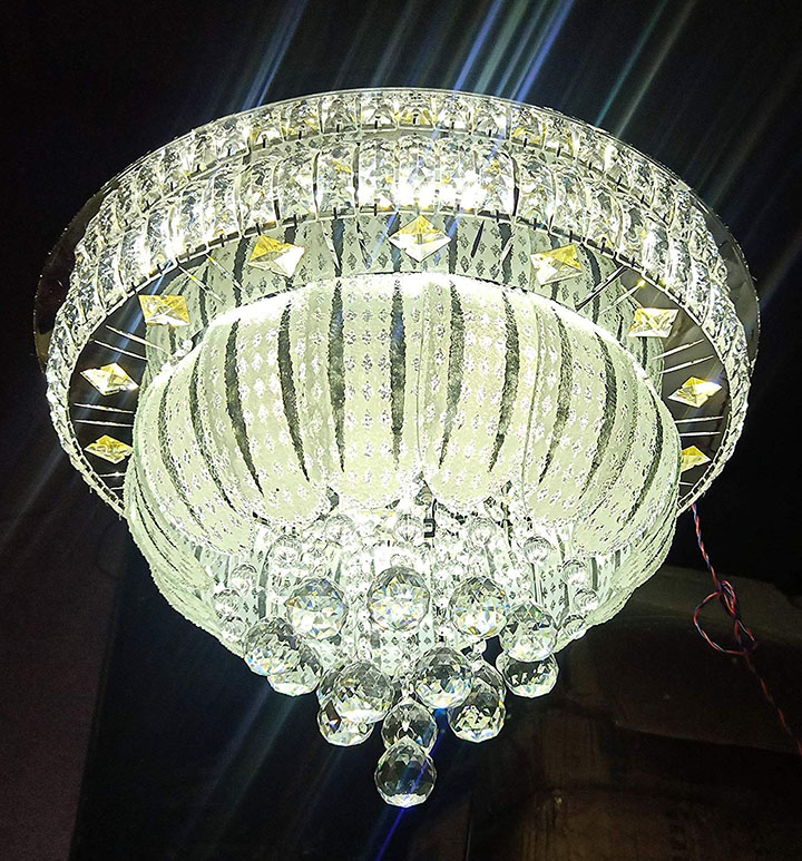 siddhika light traders crystal led chandelier