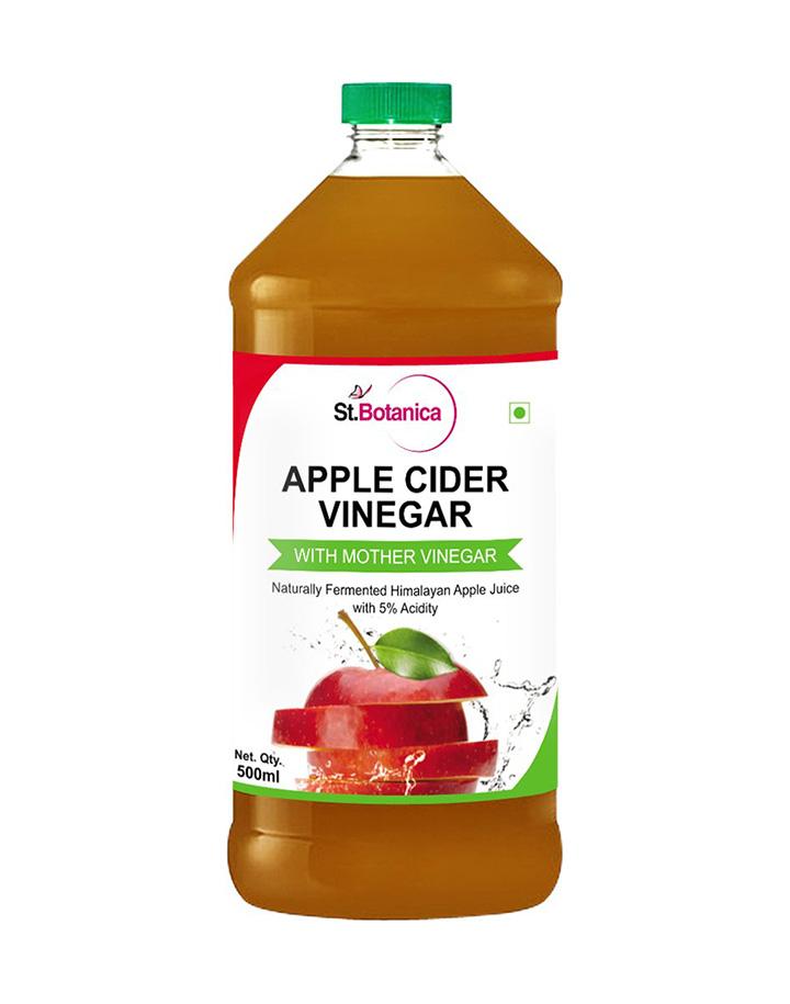 st.botanica natural apple cider vinegar with mother vinegar