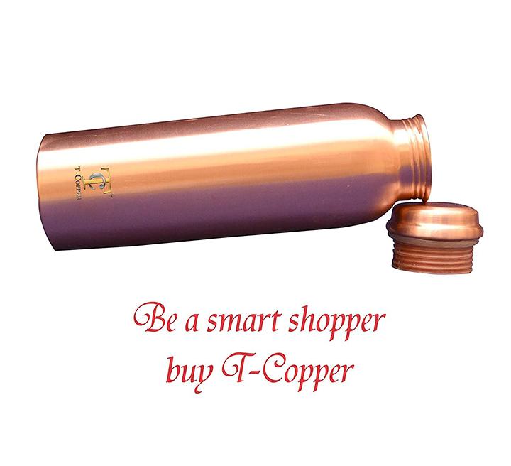 t-coppertm pure copper bottle