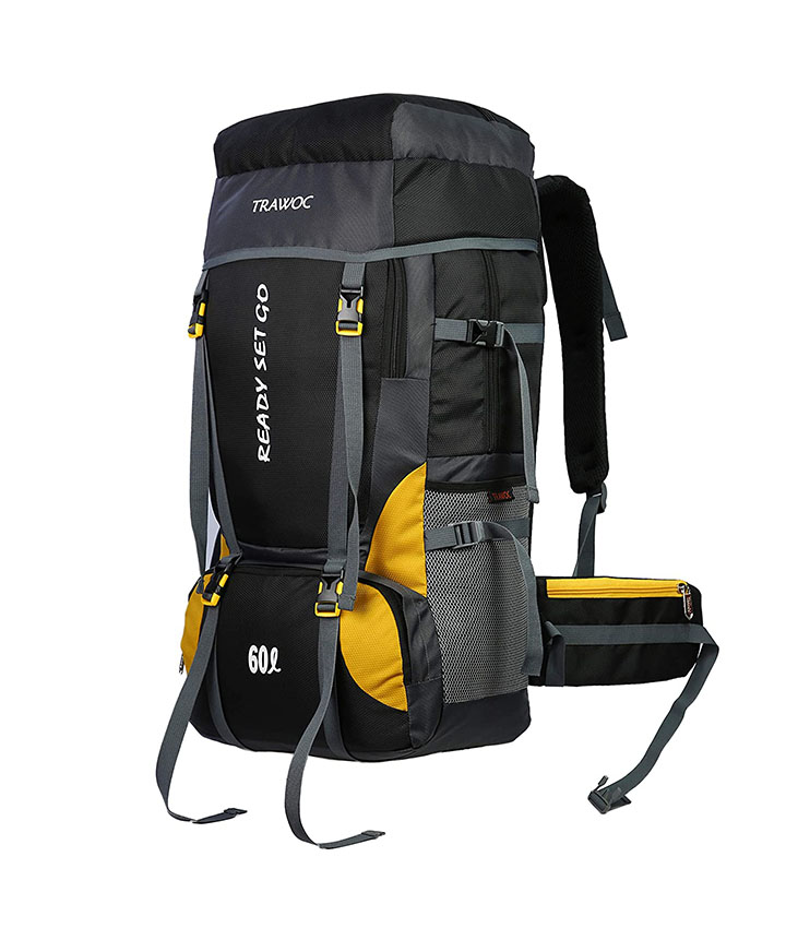 trawoc 60l travel backpack