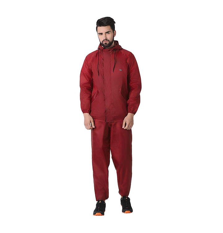 wildcraft rain cheater suit