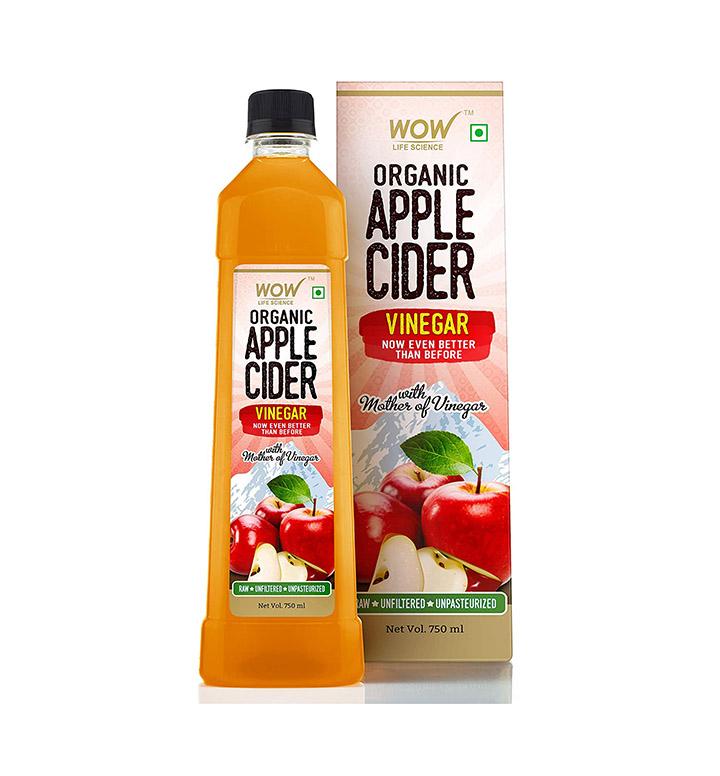 wow raw apple cider vinegar