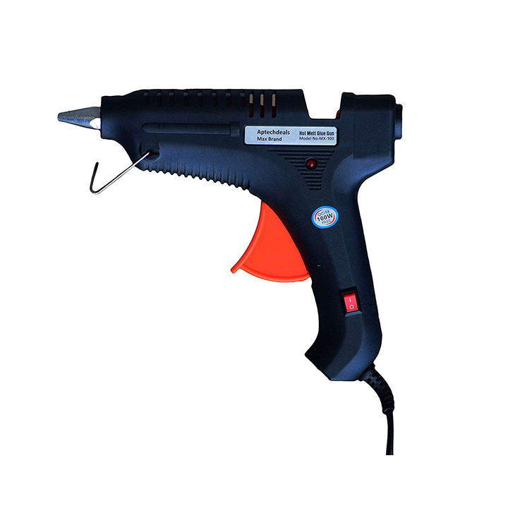aptechdeals max 100w glue gun with 5 glue sticks