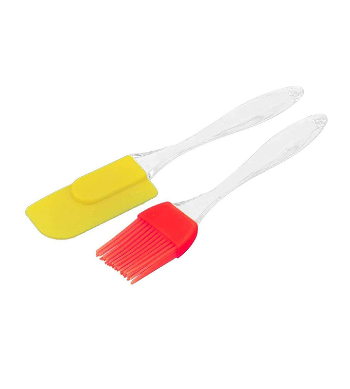 evaluemart silicone spatula and brush set