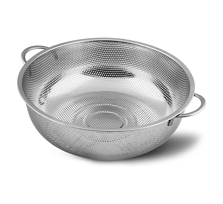 ladila stainless steel strainer basket