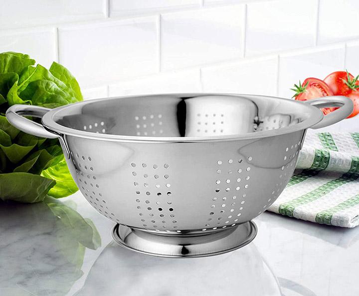 whole mart washing bowl and strainer