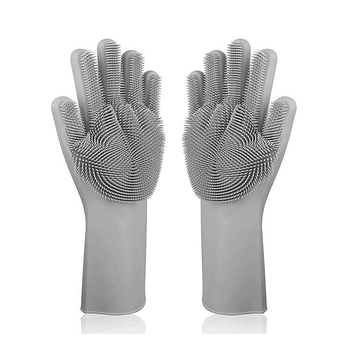 alciono magic dishwashing gloves with scrubber