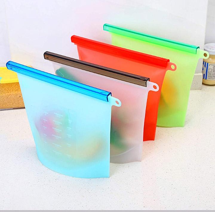 alciono making life reusable ziplock bag for food