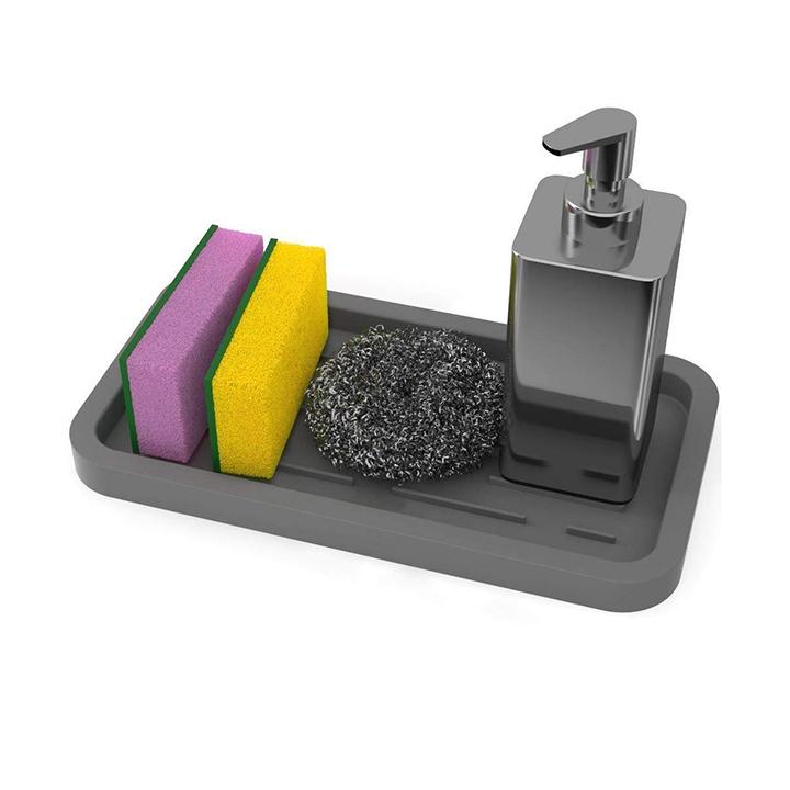 aseem kitchen sink organizer tray
