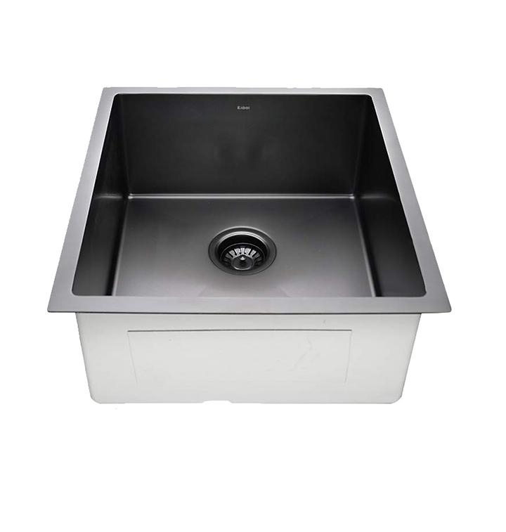 crocodile 304 grade single bowl stainless steel handmade sink