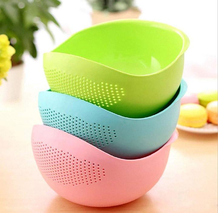 dewberries® pack of 3 washing bowl strainer