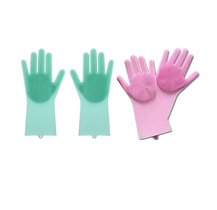 eayira magic silicone scrubbing gloves