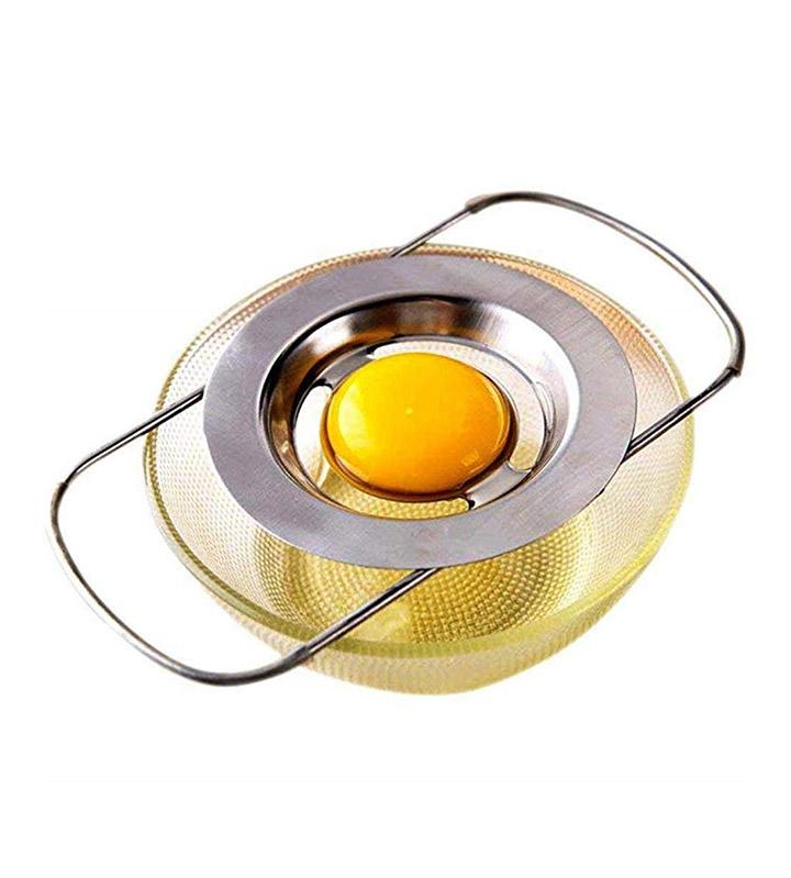 highpot stainless egg yolk white separator filter