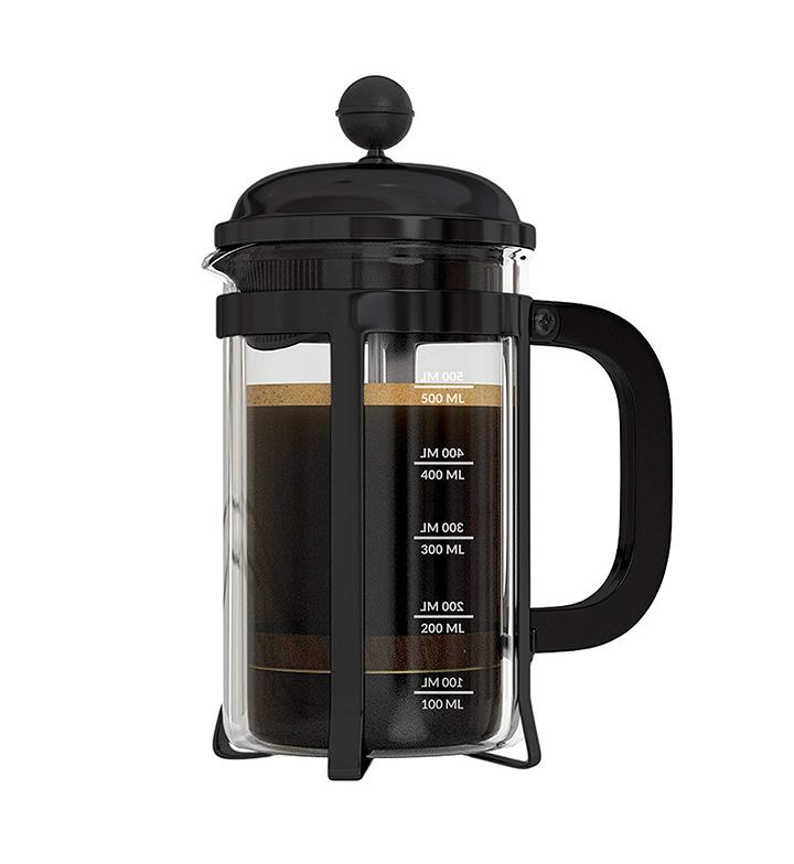 instacuppa french press coffee maker 600 ml