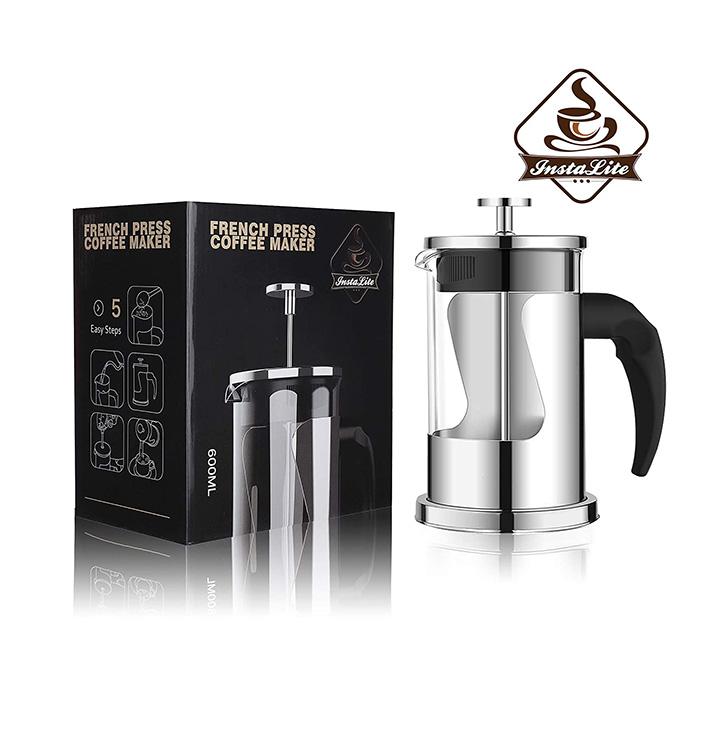 instalite french press coffee maker