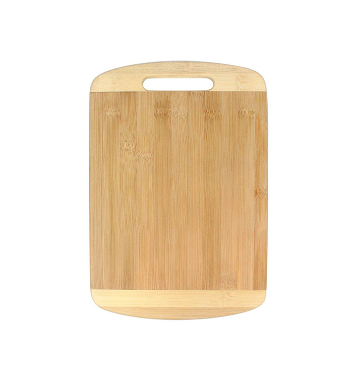 jinzifeng bamboowooden kitchen chopping cutting board with handle cutlery accessories