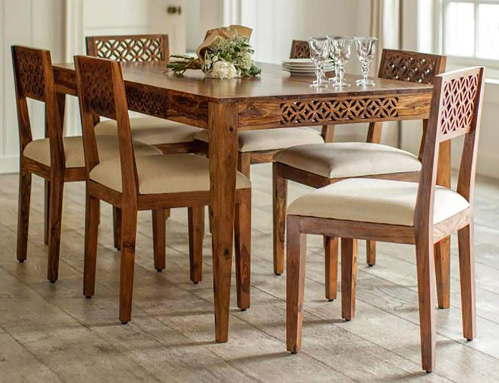 kilometre decor dining table
