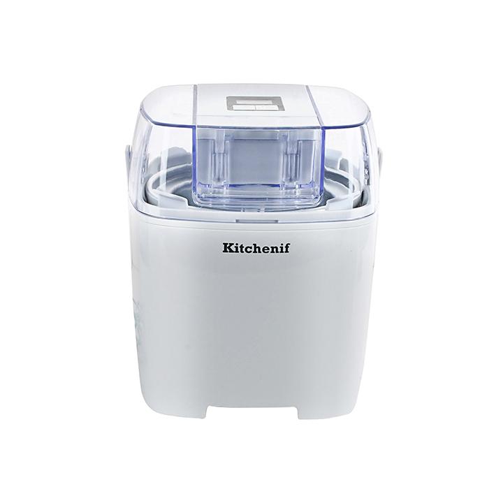 kitchenif digital ice cream sorbet slush & frozen yoghurt maker