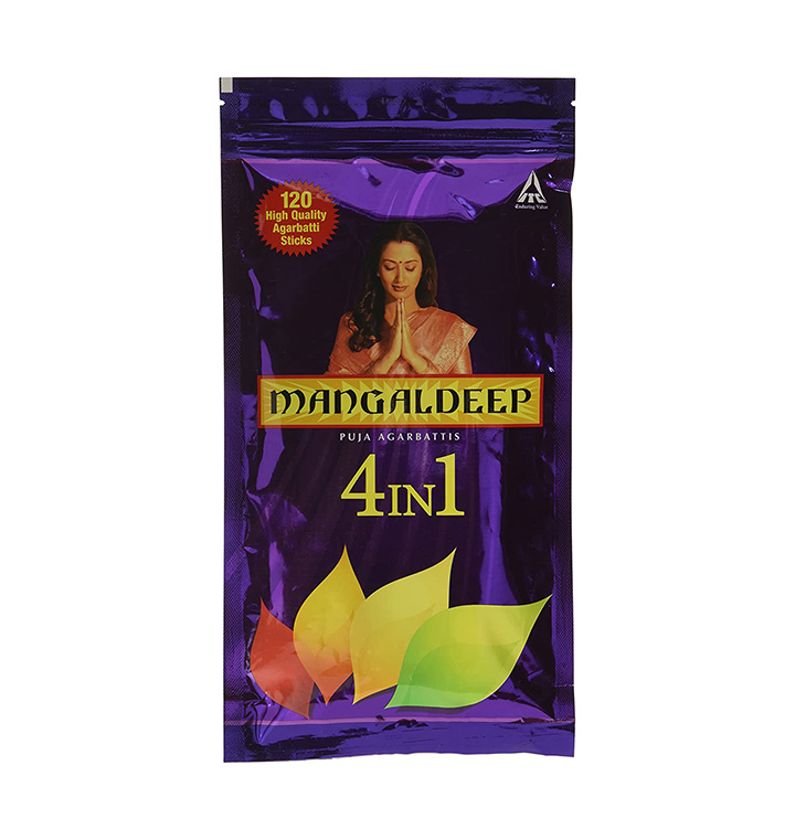 mangaldeep 4 in 1 agarbatti
