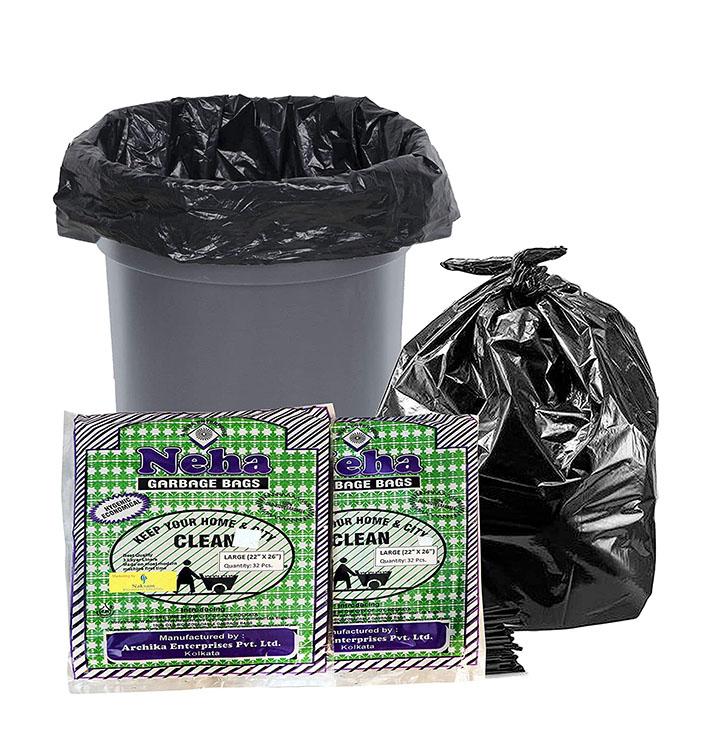 neha biodegradable garbage bags