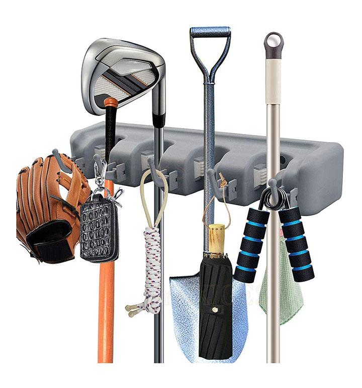 petrice broom and mop organizer
